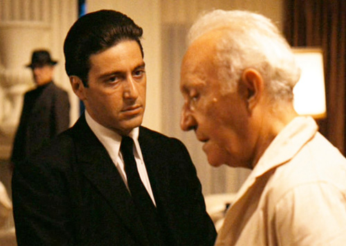 Young Hyman Roth Hyman Roth And Corleone
