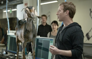 zuckerberg and goat